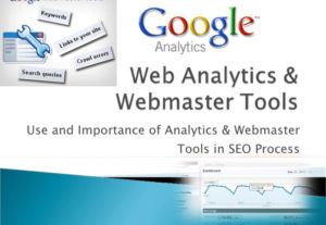 Google analytics webmaster tools and sitemap setup
