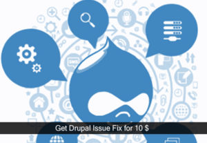 Get Drupal bug issue fixed