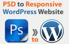 Convert Responsive PSD to WordPress