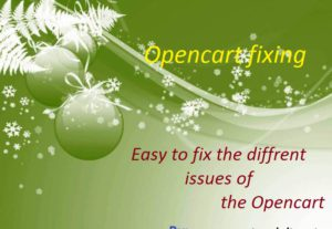 I will fix any Opencart issue.