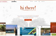 Design home page for your website