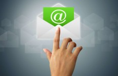 Design Email template with header and footer of your website design