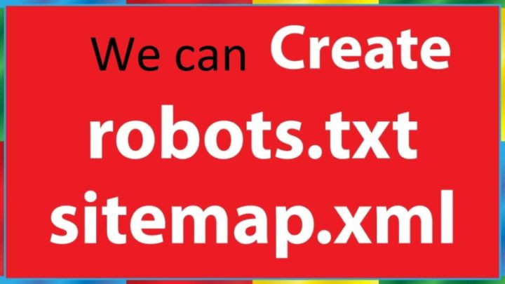 Create Robots.txt And SiteMap For Any Website