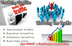 Daily Traffic For 5 days to boost your Alexa Rank – 2000 Traffic