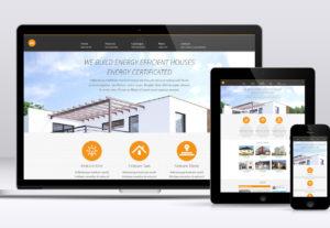 PSD design into a HTML5 responsive website