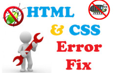 Fix any web design issues in your site