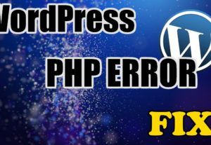 WordPress cms site errors Solutions