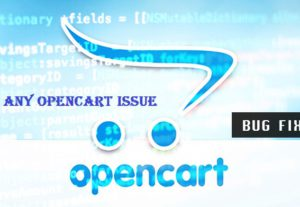 Fix any Opencart issue within minutes