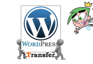 Transfer wordpress website to another host