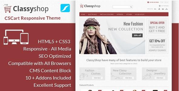 ClassyShopCSCart