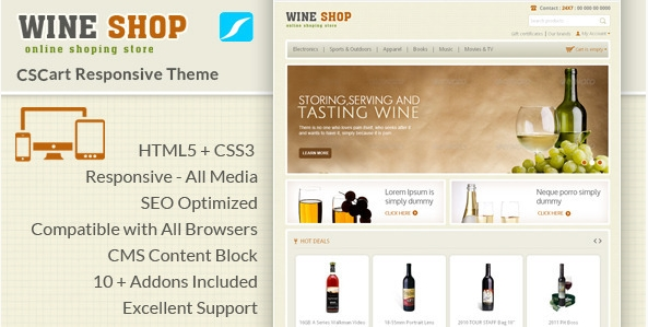 WineShopCSCart