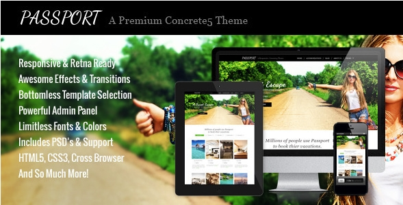 PassportA concrete5 themes
