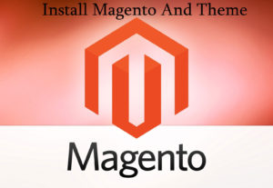 Install Magento eCommerce most popular CMS