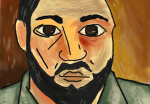 Draw you as a Picasso portrait.