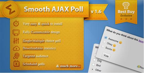 Smooth Ajax Poll