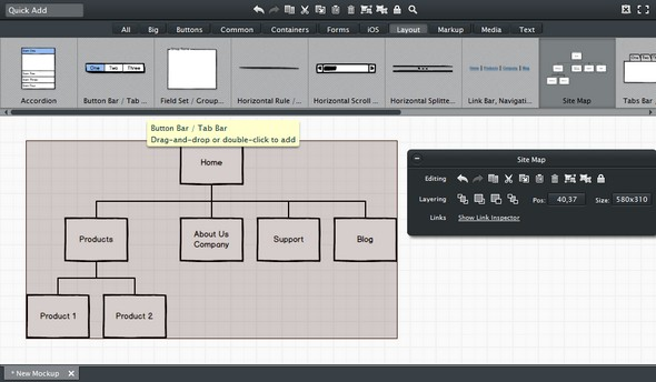10+ Useful Free WireFrame Tools and Mockup Templates » Create Website