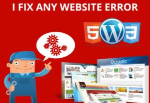 Fix , Create and Modify Website In Html,Javascript, Css,Php,Sql