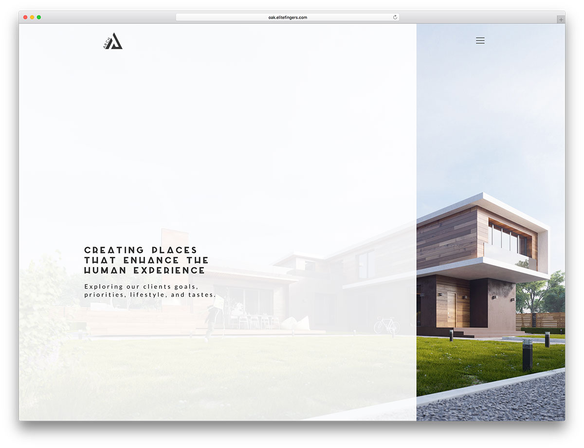 30 architecture responsive wordpress themes for architect for Huzz house