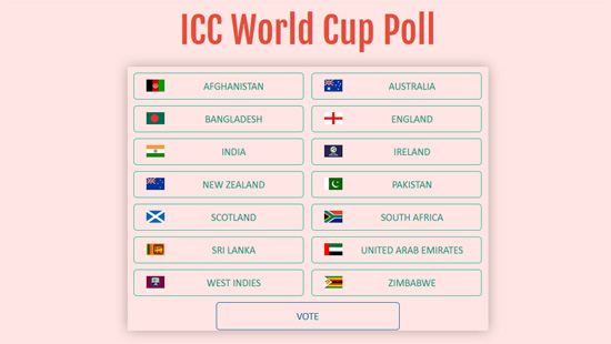 World Cup Poll