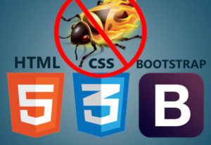 Fix Html Css And Bootstrap Bugs