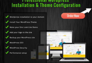 Install WordPress Theme As Like Your Demo Theme