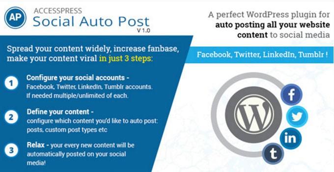 AccessPress Social AutoPost